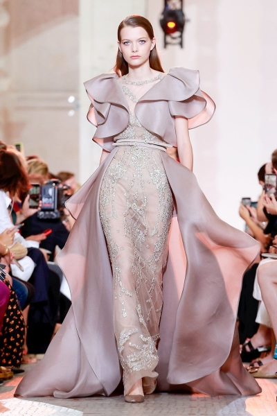 Louise RObert for Elie Saab Couture Fall 2018