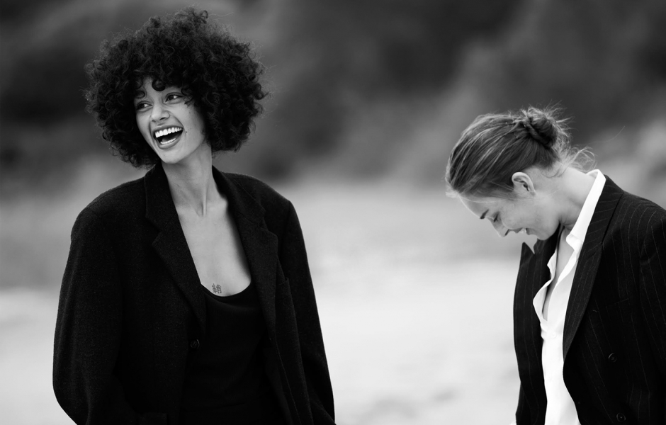 Damaris & Julia Bergshoeff shot by Nikki Esser for The Art Of Women