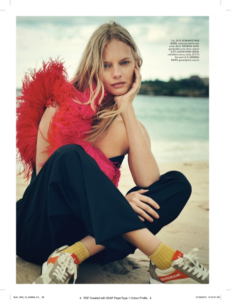 The girl from OZ - MArloes for Elle Australia