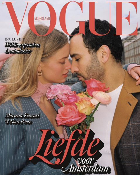 Vogue NL covers Nora & her love Marwan