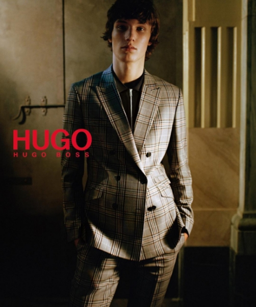 johannes spaas for hugo f/w16 campaign
