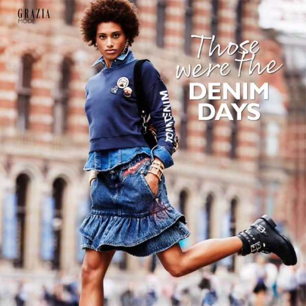 Denim Days with Nour for Grazia NL
