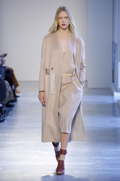 Annely walks for Agnona F/W18