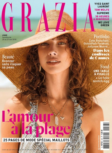 Summer Babe Gigi for Grazia FR