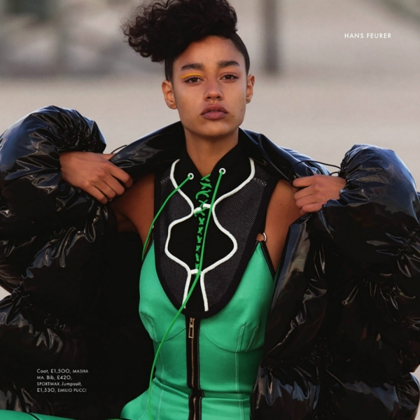 Cosmic Girl From Another Galaxy - Damaris for Elle UK