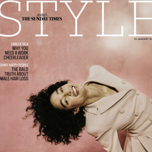 Damaris's COver Story for The Sunday Times STyle
