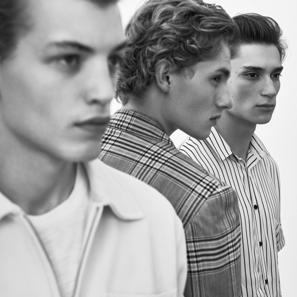 Homme My God. Nick, Lemmie & Bill for Stylist