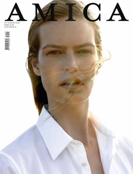 Milou G covers AMica Magazine