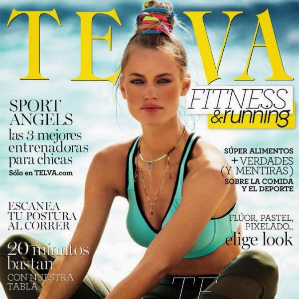 Nora on the cover of Telva Magazine