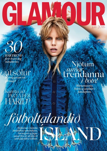 Marloes is a Rock & Roll Muse for Glamour Iceland